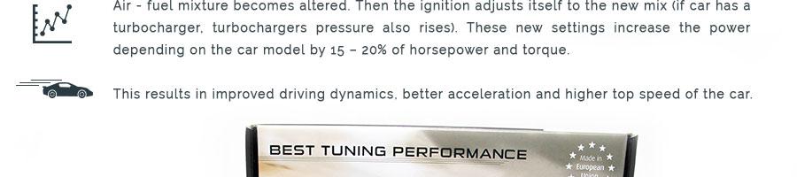 Powerbox Performance Chiptuning Convient pour toutes SUZUKI avec Common Rail Moteur